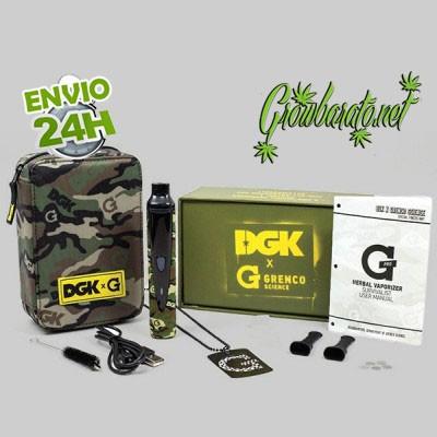 Vaporizador DGK x G portátil para marihuana
