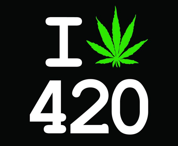 420 And 710 Cannabis Numbers