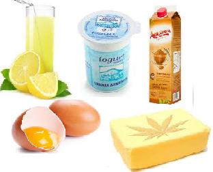 ingredientes mouse limon