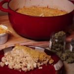 Cavatelli con salsa de canna-queso