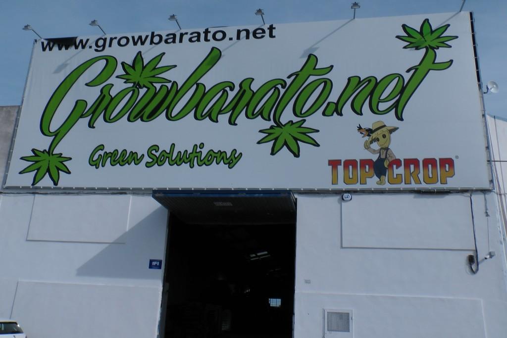 Nueva Nave-Almacén de GrowBarato en Valencia