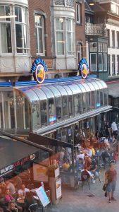 Vue d'Amsterdam ou s'est déroulée la High Times Cannabis Cup