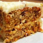 Pineapple Carrot Cake with Cannabis