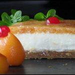 White Chocolate Cannabis Cheesecake