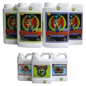 como aplicar advanced nutrients professional pack foto kit basico
