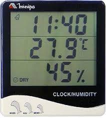 thermo-hygrometre