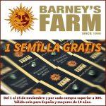 Semillas de Barney's Farm gratis