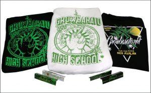 ropa de marihuana