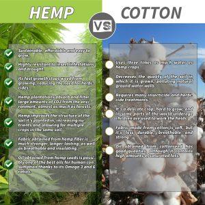hemp vs cotton