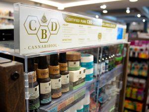 Parafarmacia con productos derivados de marihuana