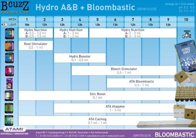 Hydro A&B + Bloombastic