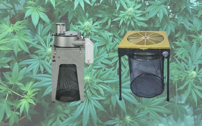 maquina de pelar marihuana
