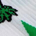Blanco / Hojas verdes (G Grande)